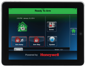 L5200 iPad Disarmed Alarm System