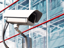mounted camera on pole - security systems integrators