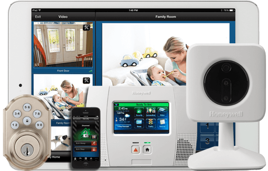 Honeywell Home Security Solutions Product Suite