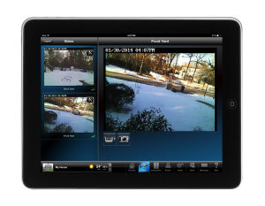 Residential Surveillance on iPad - Security Companies